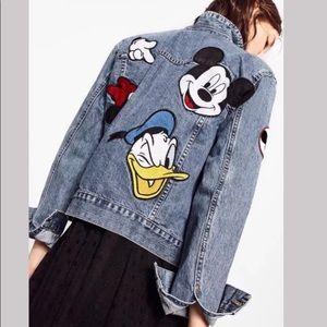 Zara x Minnie Mouse Denim Jacket
